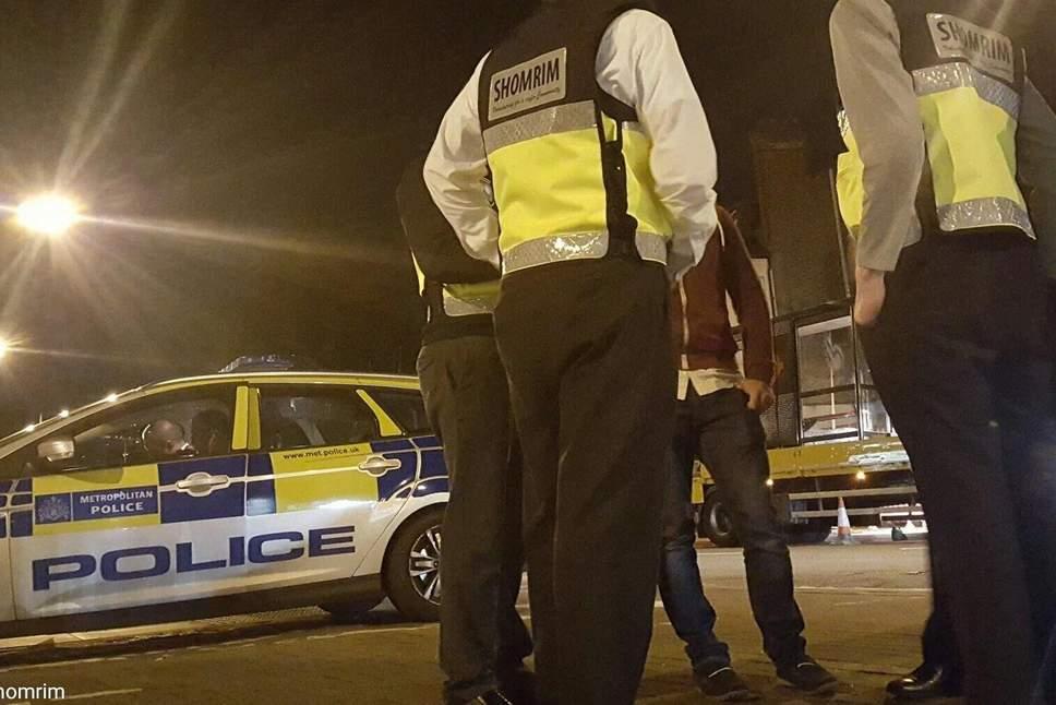 Shomrim assists in arrest of burglars of old people's home